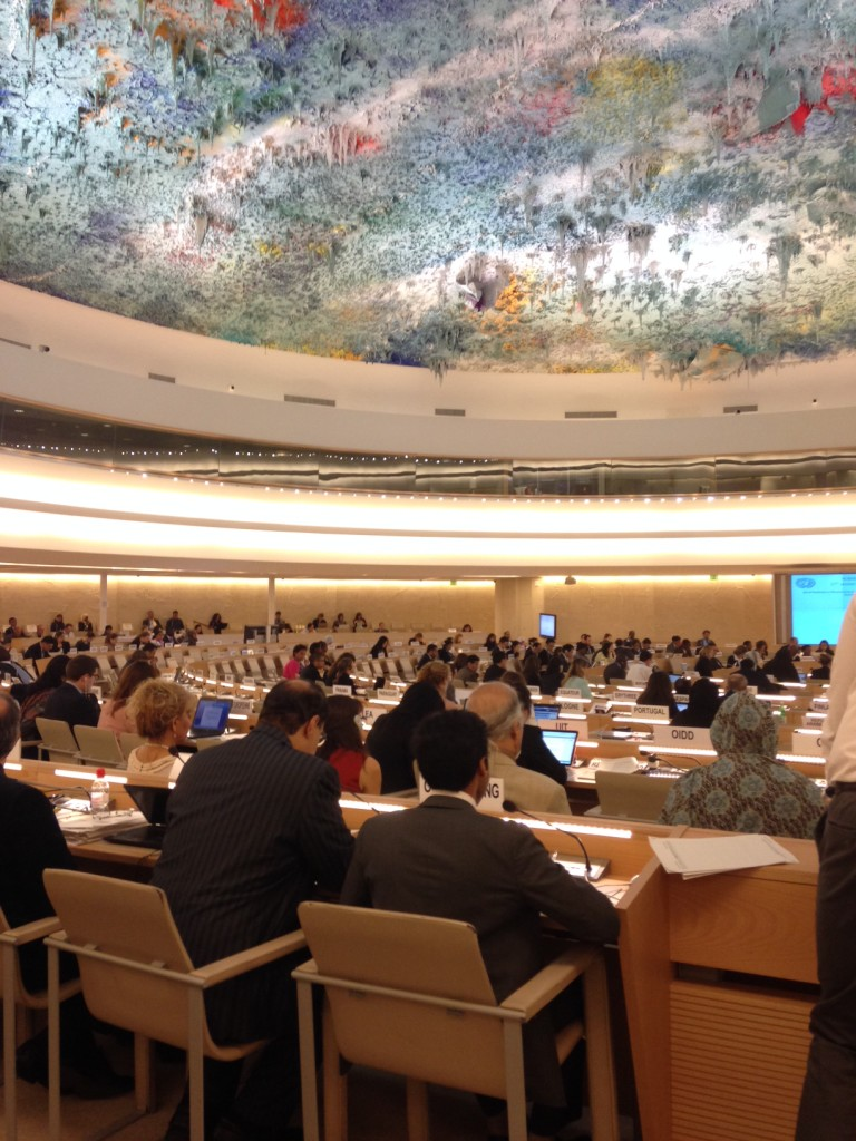 Bahrain #HRC27: Interactive Dialogue on Enforced Disappearance