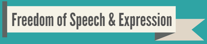Speech & Expression header