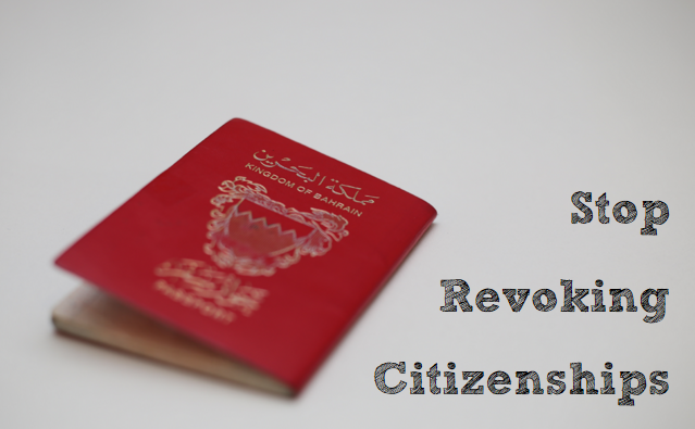 Stop Revoking Citizenships