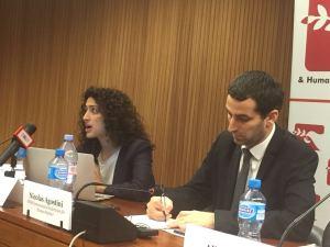 Maya Foya, Reprieve, spoke on the death penalty in Saudi Arabia