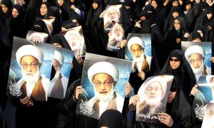 Protests in Bahrain after Sheikh Isa Qassim was stripped of citizenship.