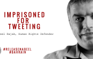25 NGOs: Urgent Appeal to EU: Call for the Release of Nabeel Rajab