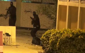 Plainclothes officers in Duraz on the night Mustafa was shot.