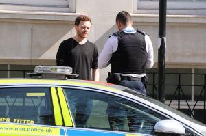 Sam Walton explains his citizens arrest to the police