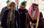 Theresa May omits human rights concerns during visit to Saudi Arabia