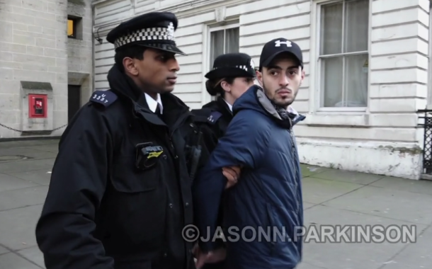 Activist Arrested for Throwing an Egg at Saudi Crown Prince's Convoy at 10 Downing Street