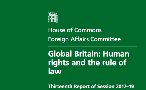 Foreign Affairs Committee Report: FCO Should Reconsider Situation in Bahrain and Stop Shielding Saudi Arabia and Bahrain from UN criticism